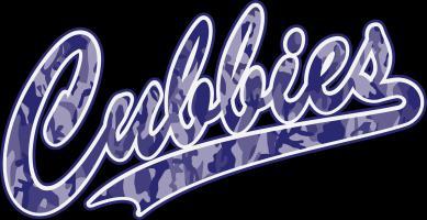 Cubbies Pink Camo Baseball Script