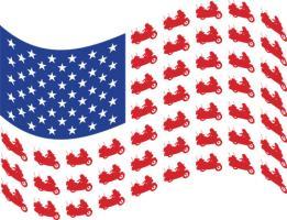 WINGER FLAG WAVE