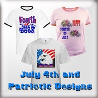 July 4th & Patriotic T-Shirts & Gifts