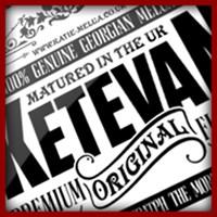 Vintage Ketevan logo in black