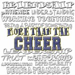 more than the cheer