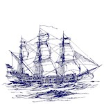 VINTAGE CLIPPER SHIP