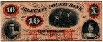 $10 Allegany County Bank