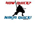 How quick? Ninja quick! Fun martial arts shirts