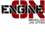 Engine On BJJ shirts, design 2