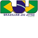 BJJ shirts - Brazilian flag colours