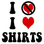 I Don't Love I Heart Shirts