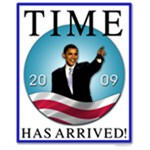 Obama - Time Has Arrived!