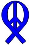 Peace Ribbons (Liberal Blue)