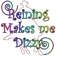 Reining makes me dizzy