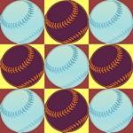 Pop Art Baseball