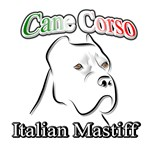 Cane Corso white t