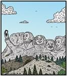 Mt Rushmore selfies