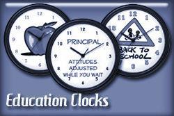 Education Occupation Wall Clocks