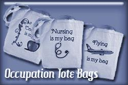 Occupation Tote Bags