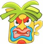 Angry Tiki Mask