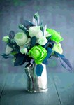 Green Rosebuds