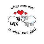 What ewe see
