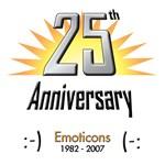 Emoticons: 25th Anniversary Celebration!