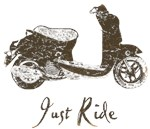 Just Ride Brown