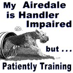 Airedale Terrier Agility