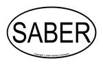 Saber oval
