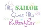 My Sailor Gives Me Butterflies