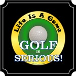 Golf Is Serious