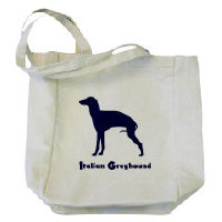 Italian Greyhound Lover's Totebags!