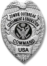 ZOCEC Badge Keychains