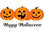 3 Halloween Pumpkins Personalized