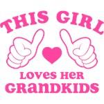 This Girl Loves Her Grandkids