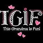 TGIF Fun Grandma WHT