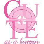 Cute As A Button Pink