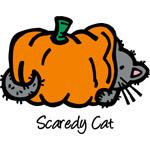 Pumpkin Scaredy Cat