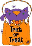 Kitty Trick or Treat