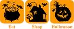 Eat Sleep Halloween