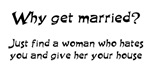 Why get married?