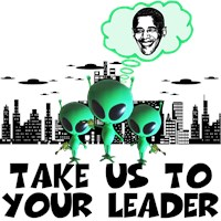 Pro Obama take me to your leader spoof Shirts