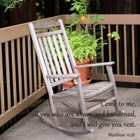 Come to me ... I will give you rest