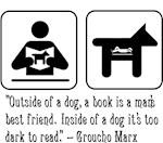 Book, man's best friend