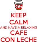 Relaxing Cafe con leche