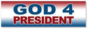 God for President