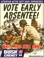 Vote Early Absentee