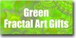 Green Fractal Art Gifts