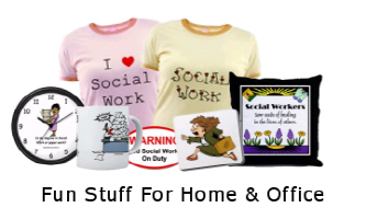 Unique T-Shirts and Apparel Just For Social Workers