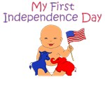 4th of July: Flag Baby