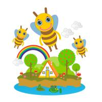 Honey Bees are super
