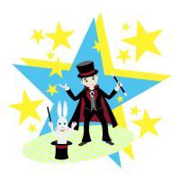 The magician kid