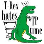 T Rex hates TP time
